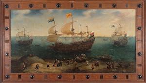 RIJKS: Hendrik Cornelisz. Vroom: painting 1640