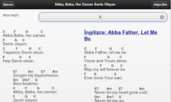 Screenshot of Worship Leader (Turkish)