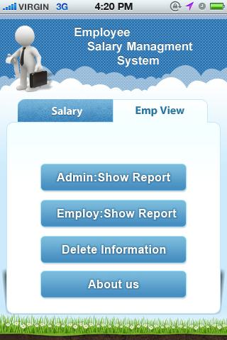 Employee salary managements