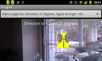 Screenshot of TV signal FREE