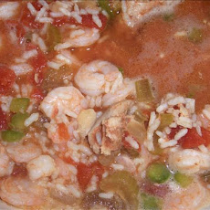 Jambalaya Style Chicken and Shrimp