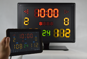 Screenshot of Light Score Scoreboard