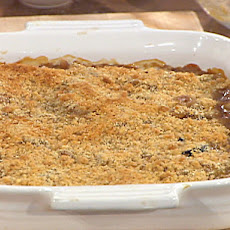 Stewed Fall Fruit with Buttered Crumbs