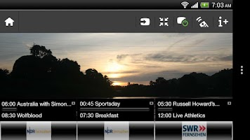 Screenshot of Philips MyRemote