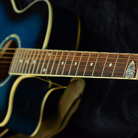 Black~n~blue by Jaime Fain - Artistic Objects Musical Instruments (  )