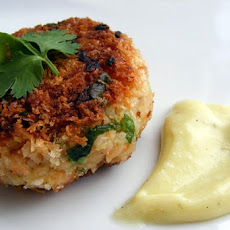 Curried Scallop Cakes