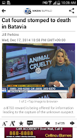 Screenshot of WKBW TV Buffalo
