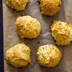 Sour Cream & Chive Drop Biscuits