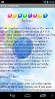 Screenshot of 4 In A Line Balloon