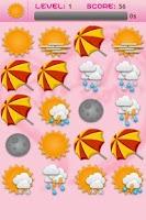 Screenshot of Weather Memory