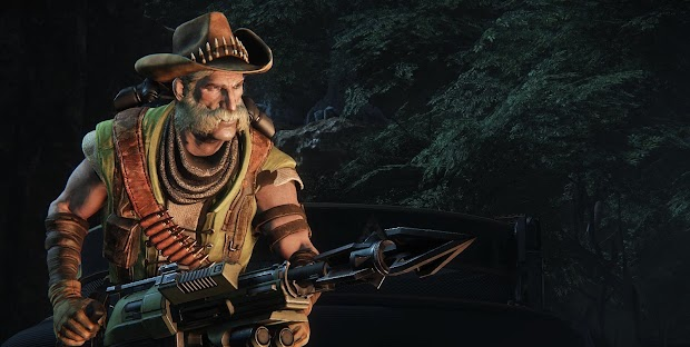 Evolve's second human hunter, Griffin revealed