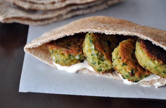 Homemade Falafel with Tahini Sauce Recipe | Yummly