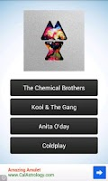 Screenshot of Album Cover Quiz