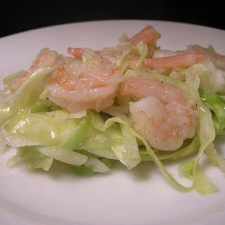 Chilled Shrimp with Autumn Slaw