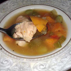 Chicken and Yam Soup