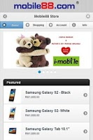 Screenshot of store.mobile88.com
