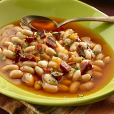Chorizo & White Bean Soup