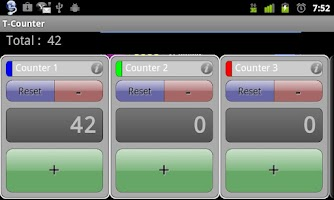 Screenshot of T-Counter