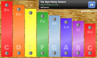 Screenshot of Kid's Xylophone Lite