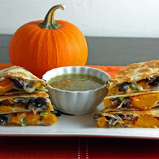 Pumpkin Pie Quesadillas
