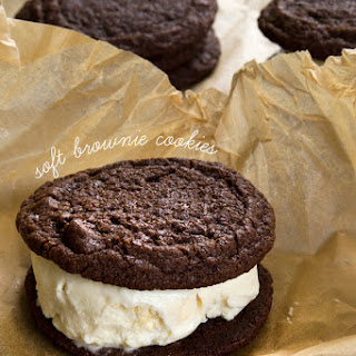 Soft Gluten Free Brownie Cookies