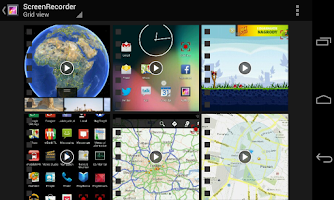 Screenshot of SCR Screen Recorder Pro ★ root