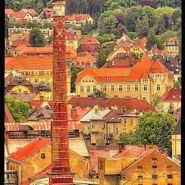 Litoměřice by Petr Klingr - City,  Street & Park  Historic Districts ( hdr, leitmeritz, old town, litoměřice, old brewery )