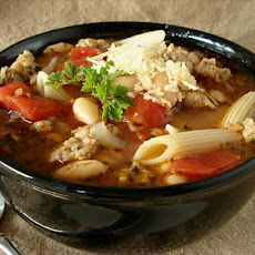 Italian Pasta and Bean Soup