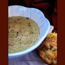 Creamless Cauliflower Leek Soup
