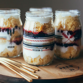 Cranberry Cornbread Parfaits by Molly Yeh