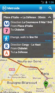 Metroide, Paris subway - screenshot