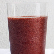 Peach, Berry, and Spinach Smoothie