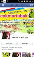 Screenshot of 1031 Gen fm