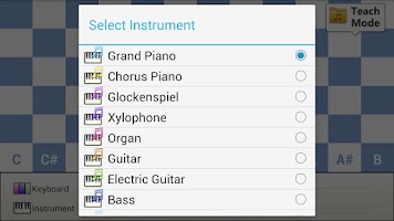 Screenshot of Super Piano (72 Key)