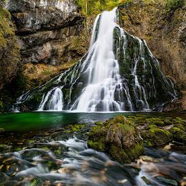 Golling, Wasserfalll by Bernhard Klestil - Nature Up Close Water ( water golling waterfall austria nikon klestil )