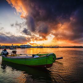 Little Boat of Pengambengan by Budi Astawa - Transportation Boats ( bali, boat, pengambengan, negara )