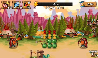 Screenshot of Fruit Shoot