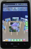 Screenshot of Gallery3D for HTC My Desire HD