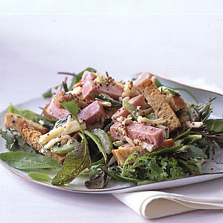 Ham and Cheese on Rye Bread Salad