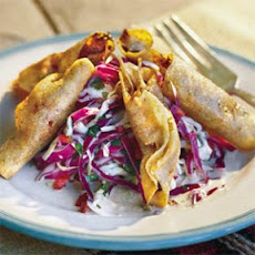 Taquitos With Pork Picadillo