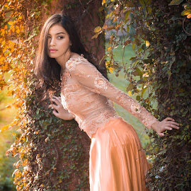 lady in the garden by Ricky Agvirty - People Fashion