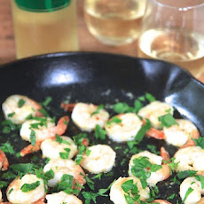 A Match Made in Heaven — Shrimp Scampi Tapas