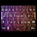 Girly Glitter Keyboard Skin icon