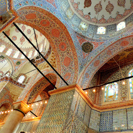 The Blue Mosque - detail by Biljana Nikolic - Buildings & Architecture Public & Historical
