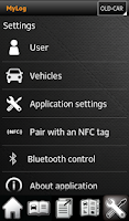 Screenshot of MyLog Mileage Logbook Expenses