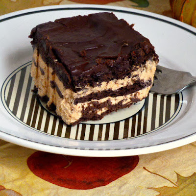 Pumpkin Chocolate Icebox Cake