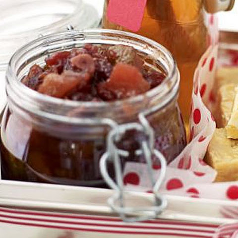 Spiced Cranberry & Pear Relish