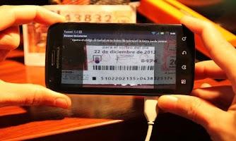 Screenshot of Escaner de Loterías