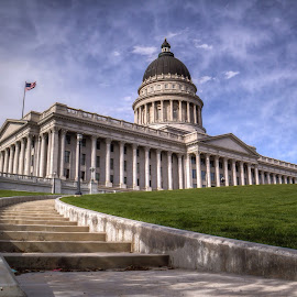 Utah State Capitol by Mike Vought - Buildings & Architecture Public & Historical ( building, utah, state, capitol, salt lake city )