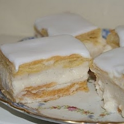 Betty's Vanilla Custard Slices
